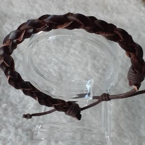 A leather braclet